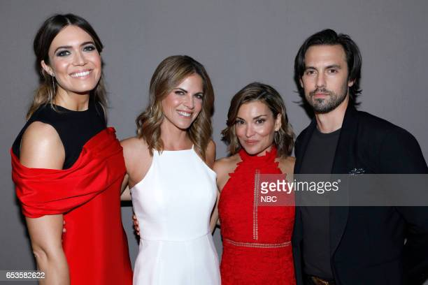 US 'This is Us' Finale Event at The DGA Los Angeles March 14 2017 Pictured Mandy Moore Natalie Morales Kit Hoover Milo Ventimiglia