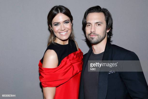 US 'This is Us' Finale Event at The DGA Los Angeles March 14 2017 Pictured Mandy Moore Milo Ventimiglia