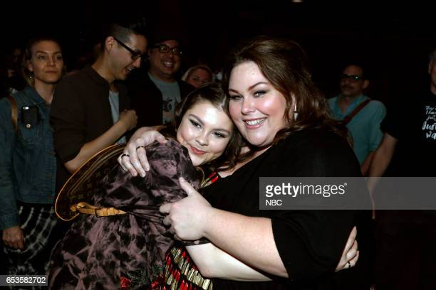 US 'This is Us' Finale Event at The DGA Los Angeles March 14 2017 Pictured Hannah Zeile Chrissy Metz