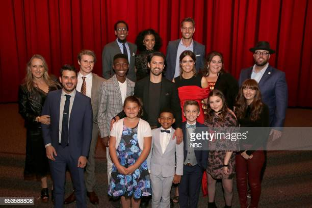 US 'This is Us' Finale Event at The DGA Los Angeles March 14 2017 Pictured Top Row Ron Cephas Jones Susan Kelechi Watson Justin Hartley Middle Row...