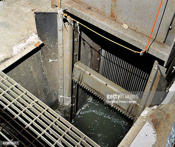 This is where the raw sewage enters the Brown Street Pumping Station and items that could clog the pumps are removed Westbrook is partnering with...