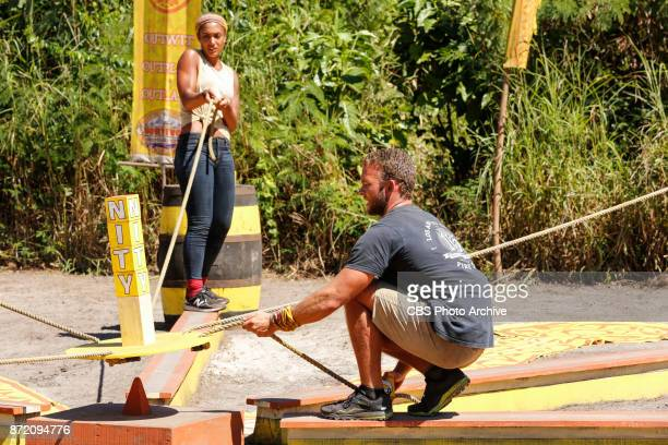'This is Why You Play Survivor' Ali Elliott and John 'JP' Hilsabeck on the sixth episode of SURVIVOR 35 themed Heroes vs Healers vs Hustlers airing...
