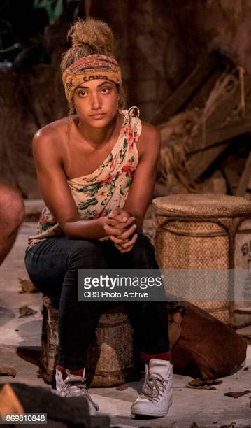 'This is Why You Play Survivor' Ali Elliott at Tribal Council on the sixth episode of SURVIVOR 35 themed Heroes vs Healers vs Hustlers airing...