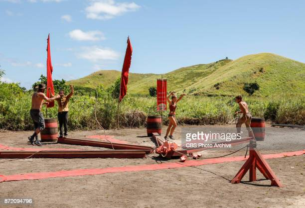 'This is Why You Play Survivor' Ben Driebergen Mike Zahalsky Jessica Johnston and Cole Medders on the sixth episode of SURVIVOR 35 themed Heroes vs...