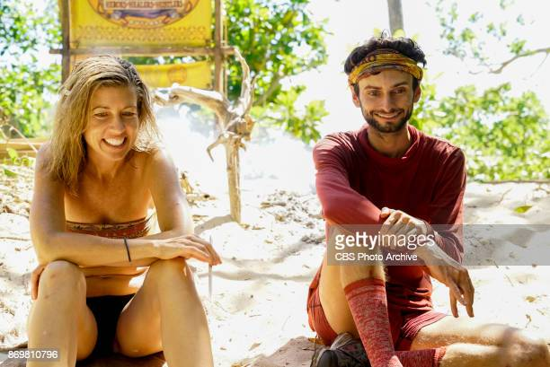 'This is Why You Play Survivor' Chrissy Hofbeck and Ryan Ulrich on the sixth episode of SURVIVOR 35 themed Heroes vs Healers vs Hustlers airing...