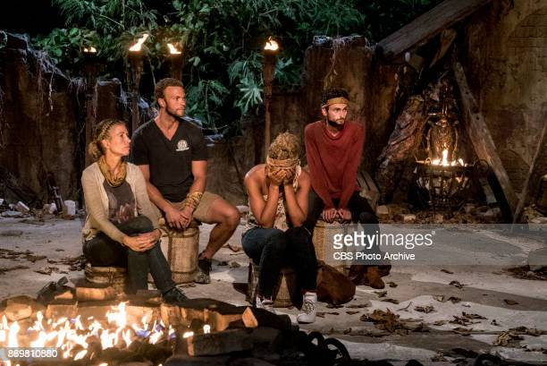 'This is Why You Play Survivor' Ryan Ulrich John 'JP' Hilsabeck Ali Elliott and Ryan Ulrich at Tribal Council on the sixth episode of SURVIVOR 35...