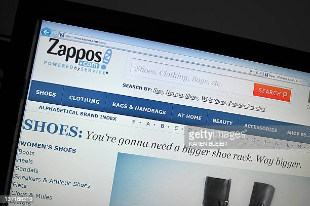 This January 16 2012 photo shows a view of the online shoe seller Zapposcom Zapposcom was notifying some 24 million customers Monday that a hacker...
