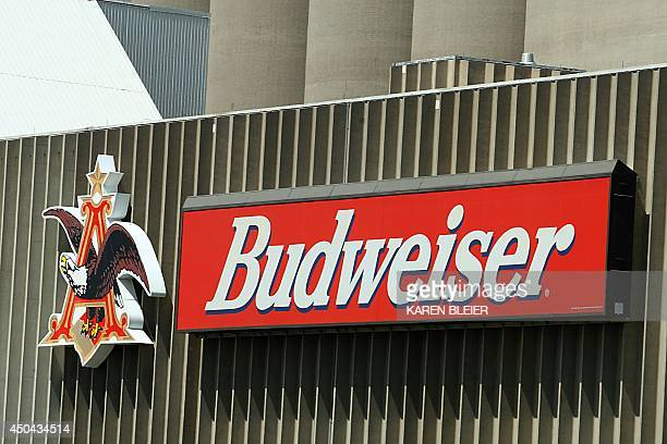This July 21 2008 photo shows barley growing in front of the Busch Agricultural Research facility elevators in Fargo ND The facility an AnheuserBusch...