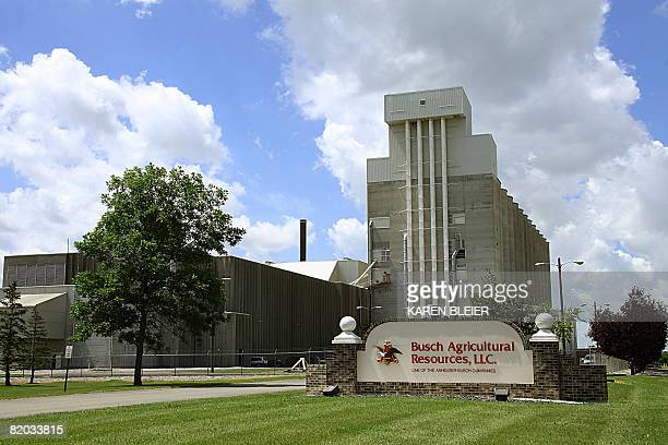 This July 21 2008 photo shows the Busch Agricultural Research facility in Fargo ND The facility an AnheuserBusch company tests barley for its malting...
