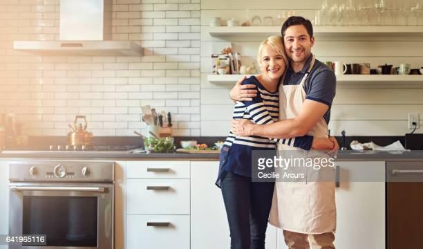 Cette cuisine est pleine d'amour