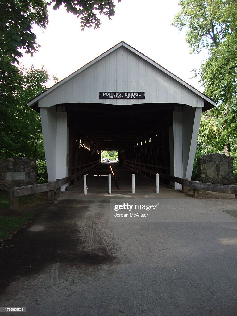 CONTENT] This lovely bridge preserved by the Noblesville Parks and Recreation Department was built over the White River in 187071