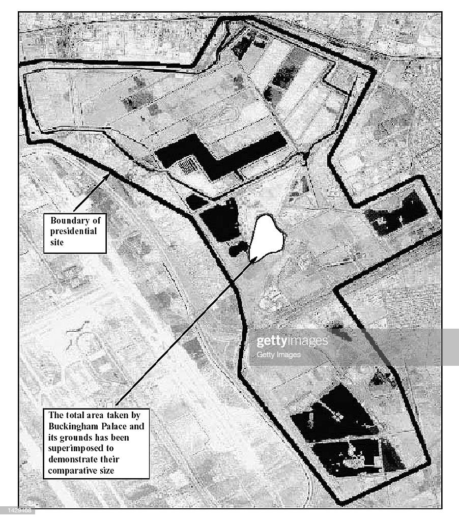 This map taken from the British government's 50page report on Iraq's weapons of mass destruction capability released September 24 2002 reportedly...
