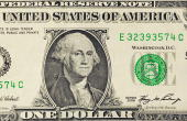This March 29 2009 photo illustration shows George Washington on the front of the one dollar USD note in Washington DC AFP PHOTO/Karen BLEIER