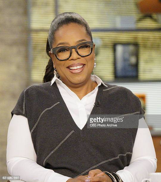 Oprah Winfrey talks about her new cookbook and weight loss on CBS This Morning on Tuesday 1/3/2017