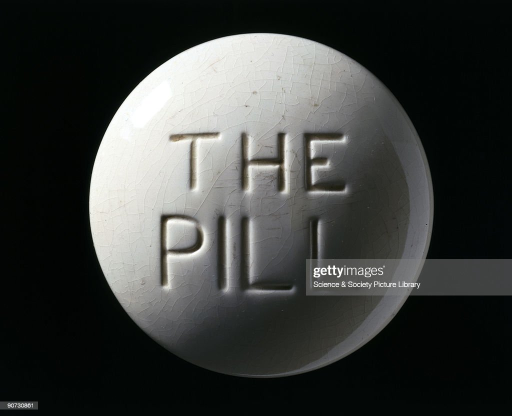 This paperweight was made to represent a contraceptive pill. Access to advice about contraception was not available to women in most countries until well into the latter half of the 20th century. Before this, individual campaigners such as Marie Stopes (1880-1958) set up birth control clinics against much opposition. The contraceptive pill first became available in 1960. It uses female hormones to control fertility and became commercially viable when it was discovered that the Mexican yam was a cheap natural source of these hormones.
