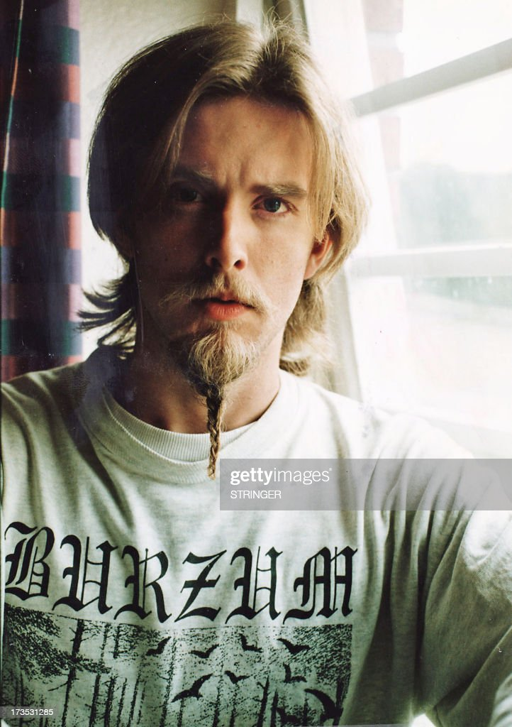 This photo taken in 1999 shows Kristian Vikernes, aka Varg, the leader of the black metal band Burzum, neo-nazi sympathizer and convicted murderer photographed at Ila prison outside Oslo. Varg Vikernes, also known as Count Grishnackh, and his wife, have been arrested and taken to custody in the Correze region of France on July 16, 2013. According to French Interior Minister Norwegian national is suspected of planning a massacre. His wife, Marie Cachet, a French national and a member of a shooting club, had recently legally purchased four rifles.
