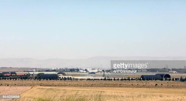 This photo taken on September 8 2017 in Konya shows an air base / AFP PHOTO / ADEM ALTAN