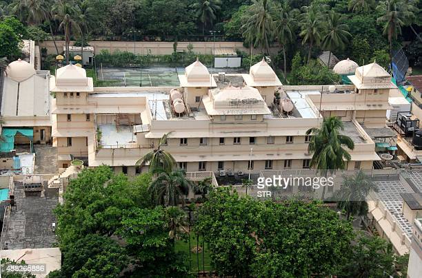 This photograph taken on September 14 2015 shows a general view of Lincoln House in Mumbai The US government has sold a former maharaja's mansion in...