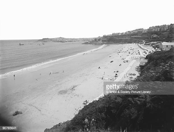 This photograph was one of a series taken to advertise holidays in Cornwall at locations served by the Great Western Railway's lines Photographs like...