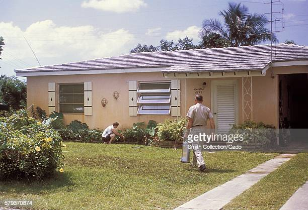 This photograph was taken during the 1965 Aedes Aegypti eradication program in Miami Florida 1965 In the 1960s a major effort was made to eradicate...