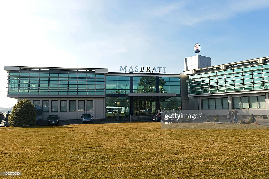 This picture shows the new plant for the company's luxury brand Maserati during its opening on January 30, 2013 in Grugliasco. Italian auto giant Fiat's bosses said they had made 'difficult choices' to continue producing in Italy despite a fall in sales but would not be shutting any plants as feared earlier. AFP PHOTO / FILIPPO ALFERO