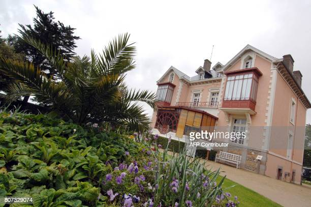 This picture taken 14 May 2007 shows the house where French designer Christian Dior was born in Granville on the Normandy coast Christian Dior who...