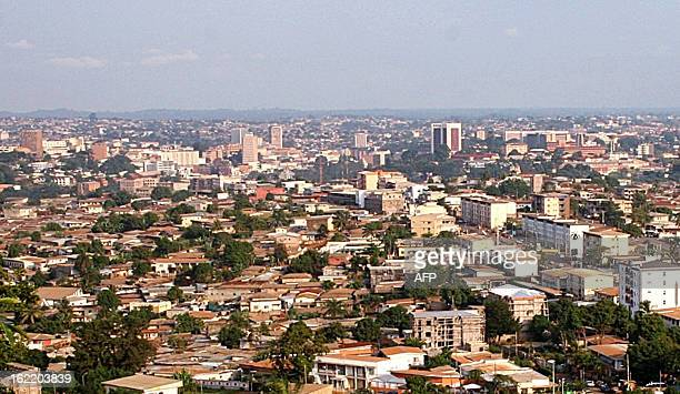 This picture taken 20 July 2007 shows a general view of Yaounde Cameroon goes to the ballot on Sunday for legislative polls which the opposition says...