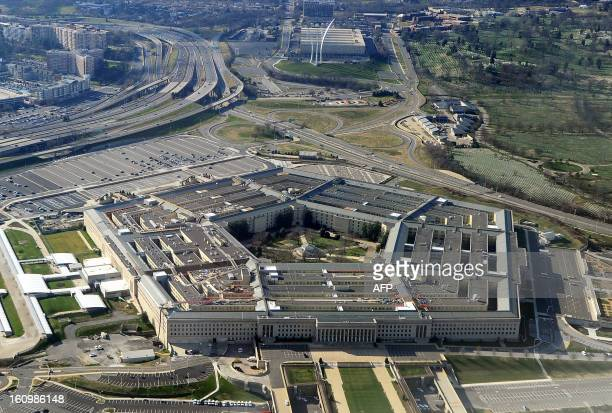 This picture taken 26 December 2011 shows the Pentagon building in Washington DC The Pentagon which is the headquarters of the United States...