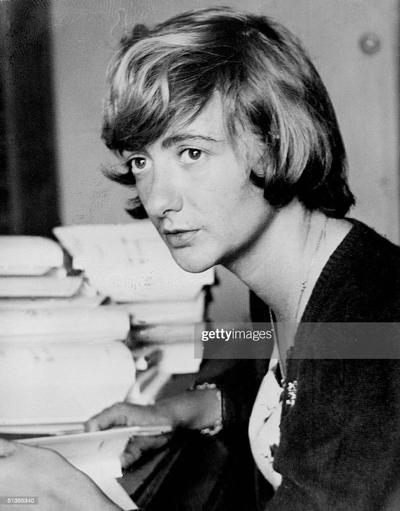 This picture taken in the 60s shows French novelist Francoise Sagan who penned 'Bonjour Tristesse' an anthem to disillusioned youth that became one...