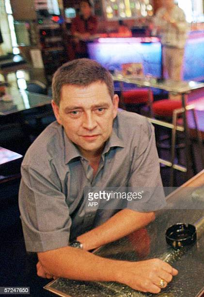 This picture taken May 2005 shows German diver Fred Dobberphul posing in Jakarta In March 2006 police swooped in the middle of the night on two...