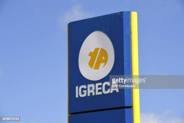 This picture taken on August 11 2017 shows the manufacturer of egg products for the food industry Igreca in SeichessurLoir Igreca received between...