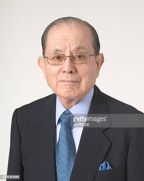 This picture taken on February 13 2006 shows Masaya Nakamura Japan's Bandai Namco Holdings Senior Advisor Masaya Nakamura the Japanese video game...