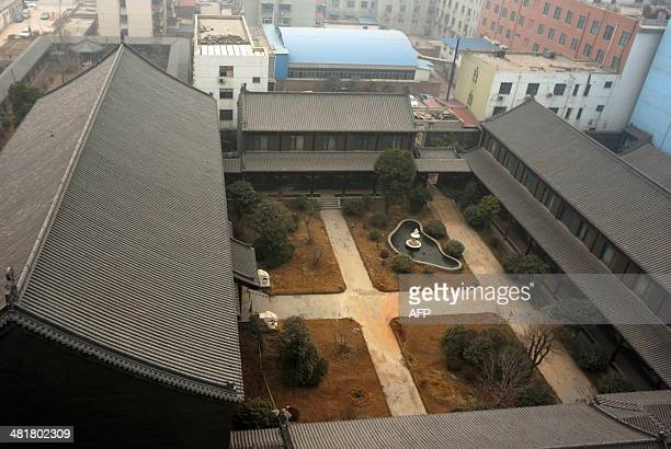 This picture taken on January 17 2014 shows former general Gu Junshan's Henan residence in Puyang central China's Henan province Gu Junshan a former...