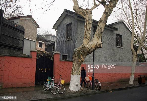 This picture taken on January 28 2015 shows the former home of the late Taiwanese leader Chiang Chingkuo the son of Kuomintang chief Chiang Kaishek a...