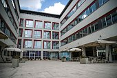 This picture taken on July 27 2016 in Istanbul shows a general view of Murat Hudagendigar University Turkey has undergone a seismic shift since the...