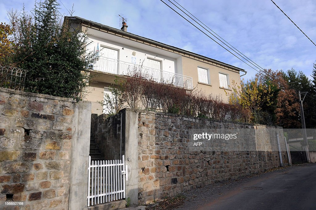 This picture taken on November 23, 2012 shows the house in the village of Banassac, southern France, where kidnapped Gilberto Rodriguez Leal lives. The Movement for Oneness and Jihad in West Africa (MUJAO), one of the Islamist groups occupying northern Mali on November 22 claimed responsibility for the kidnapping of 61-year old Gilberto Rodriguez Leal, who was born in Portugal but is a French citizen, living in Le Segala quarter of Banassac. Gilberto Rodigriguez Leal was travelling from Mauritania to Mali with his camping car when he was kidnapped.
