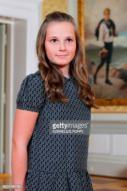 This picture taken on October 17 2016 in Oslo shows Princess Ingrid Alexandra of Norway posing for a picture Princess Ingrid Alexandra of Norway...