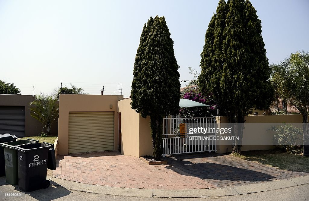 This picture taken on September 26, 2013 shows a house which, according to witnesses, a British woman thought to be linked to the Nairobi mall attacks rented for 3 months and assumed South African identity to take out bank loans and rent property in Bromhof, Randburg, Johannesburg. Samantha Lewthwaite -- wanted by Kenyan police for alleged involvement in a separate terror plot -- used the known alias Natalie Faye Webb to rent at least three properties and run up debts of $8,600 (6,400 euros), according to the eNews Channel Africa (eNCA). The 29-year-old Muslim convert -- nicknamed the 'White Widow' because her husband was among the 2005 London suicide bombers -- signed rental leases around Johannesburg, but it was unclear whether she lived at any of the premises.