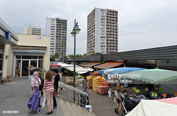This picture taken on September 5 2014 shows a general view of the ValFourré market in ManteslaJolie 57 kms west of the French capital Paris AFP...