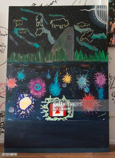 This piece came from Sioux Lookout in northern Ontario A project which brings youth and art together in celebration of Canada's 150th anniversary is...