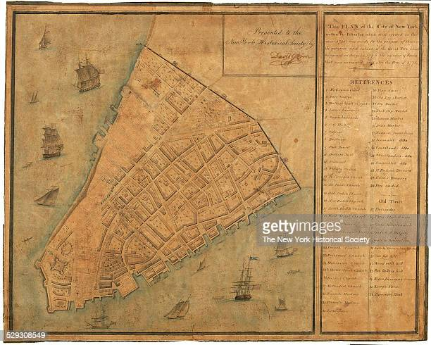 This Plan of the City of New York within the Palisades which were erected in the year 1745 was made for the Purpose of Shewing the progress and...