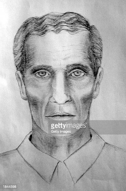 This police composite sketch shows a man wanted for information in the Elizabeth Smart kidnapping case February 3 2003 in Salt Lake City Utah The...