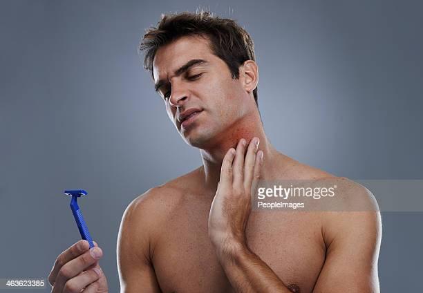 This razor gives me a rash