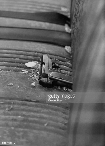 This Revolver Was Found On Seat Of Suspects Car It's a 38caliber weapon Another pistol was found in a home where one of suspects broke in as escape...