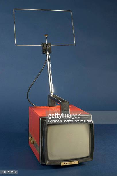 This Russianmade portable TV set would operate from mains electricity or from an external 12volt car battery Being small light and relatively...