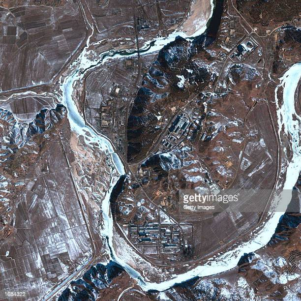 This satellite image of North Korea's Yongbyon Nuclear facility was taken in February 2002 North Korea said December 12 it will reactivate a nuclear...