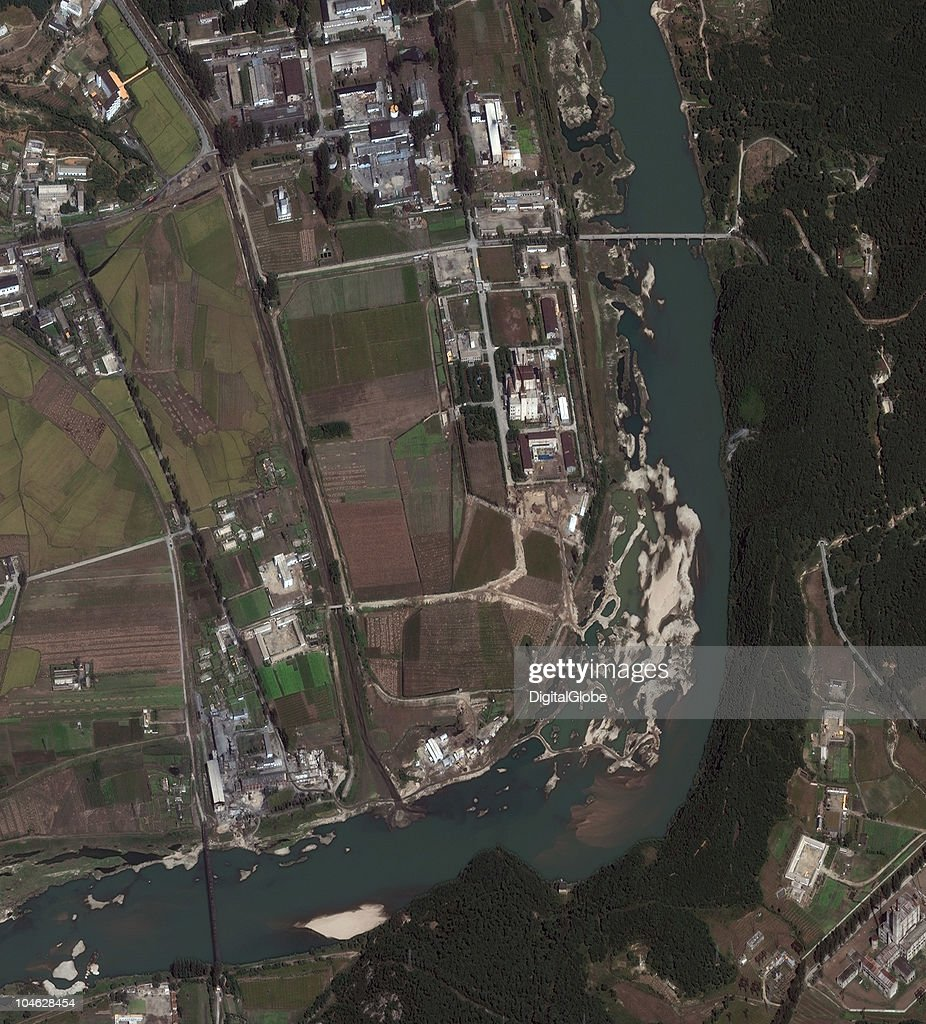 This satellite image shows construction at the Yongbyon Nuclear Site September 29 2010 in Yongbyon North Korea The North Korean leadership has been...