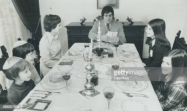 This scene will be familiar in thousands of Jewish homes tonight as families celebrates the first night of the feast of Passover It's a week of good...