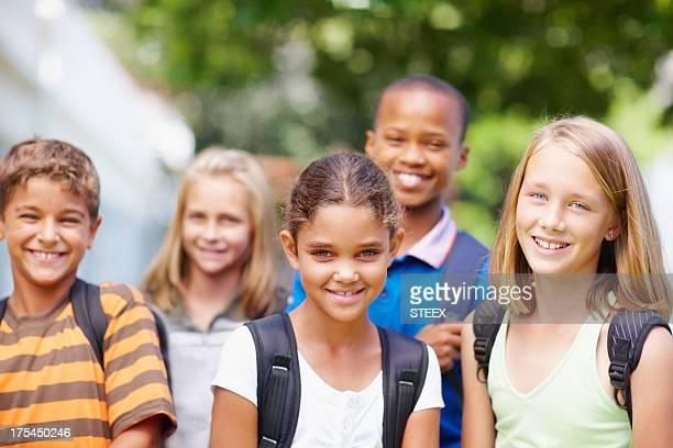 Die Schule bietet vielfältige gesellschaftliche Gruppen