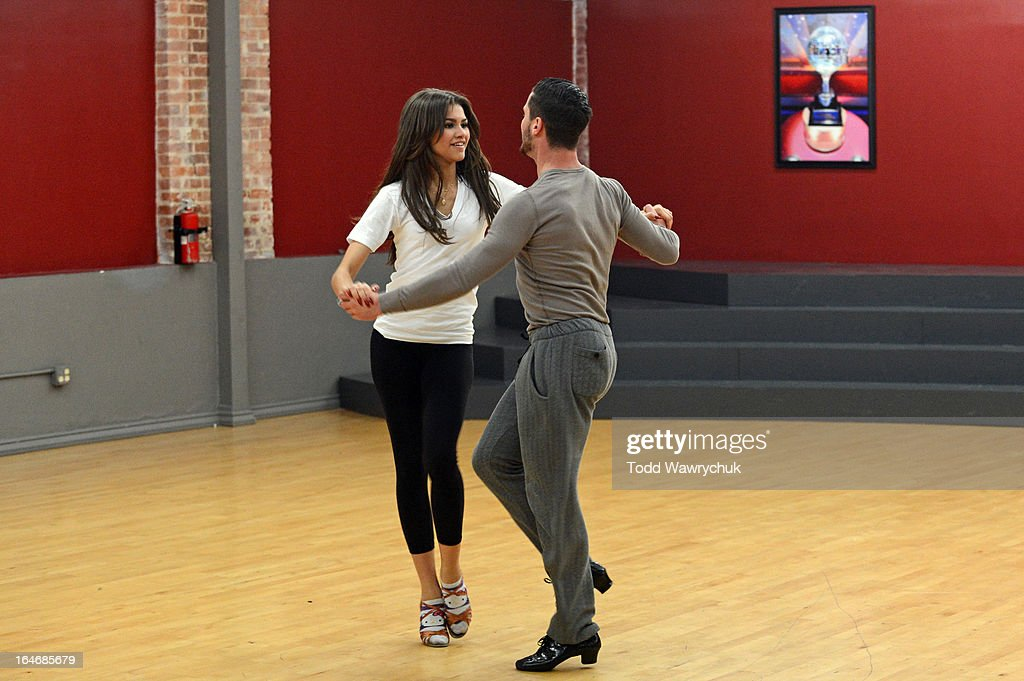 STARS - REHEARSALS - This season's dynamic lineup of stars performed for the first time on live national television with their professional partners during the two-hour season premiere of 'Dancing with the Stars,' MONDAY, MARCH 18 (8:00-10:01 p.m., ET) on the ABC Television Network. ZENDAYA, VAL